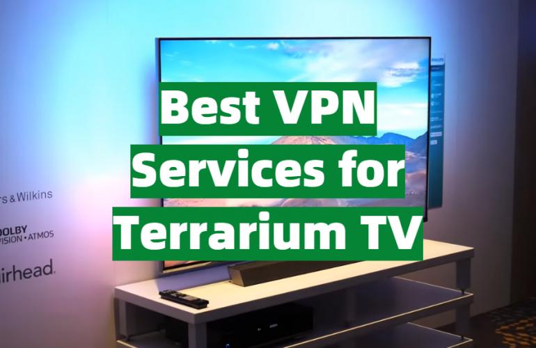 5 Best VPN Services for Terrarium TV
