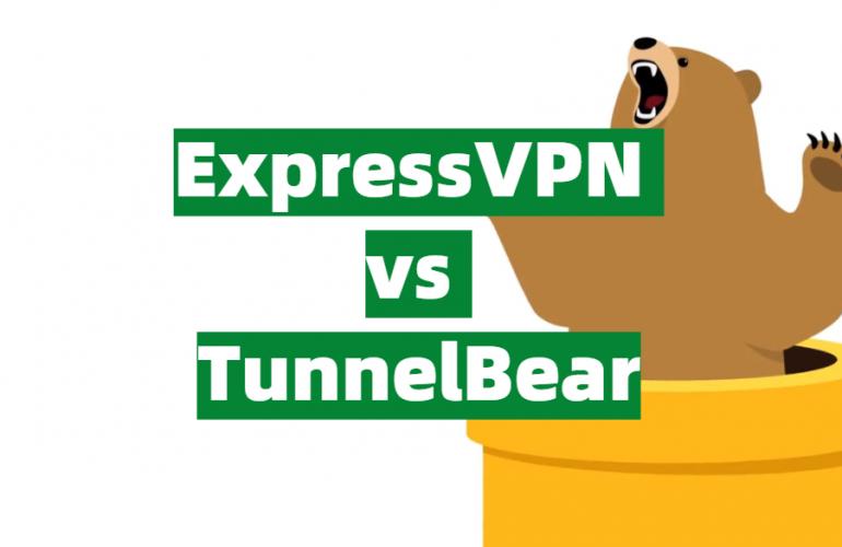 ExpressVPN vs TunnelBear Comparison