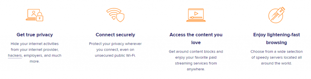 Avast VPN Features