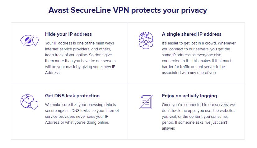 Avast VPN Security