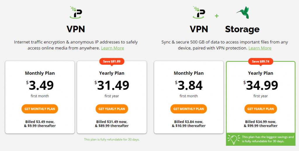IPVanish Plans & Pricing