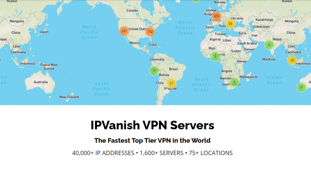 IPVanish Servers
