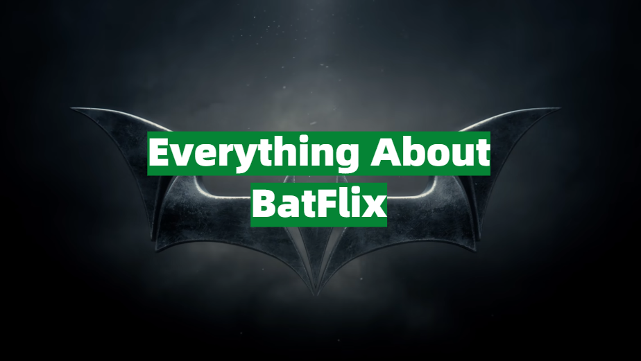Everything You Need to Know Before Using BatFlix